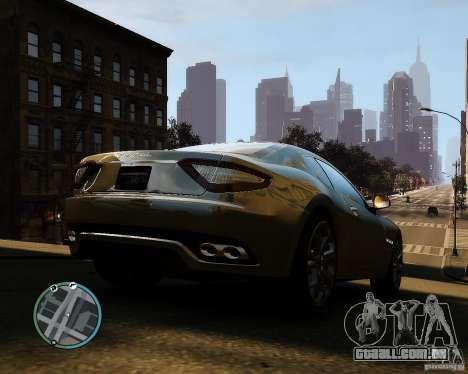 Maserati Grandturismo para GTA 4 vista direita
