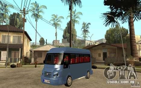 Karsan J10 para GTA San Andreas