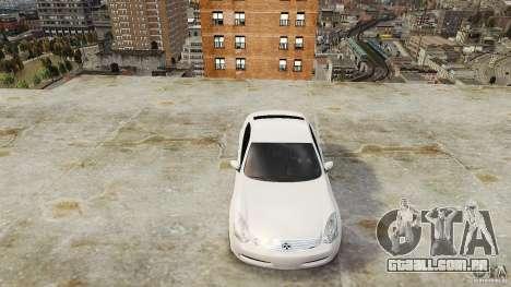 Infiniti G35 para GTA 4 vista direita