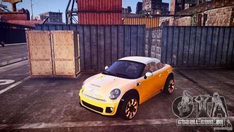 Mini Coupe Concept v0.5 para GTA 4 vista de volta