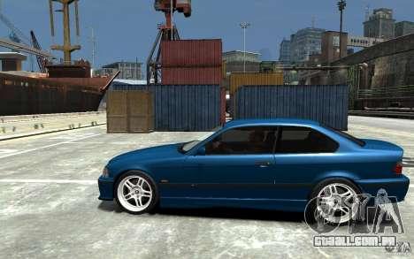 BMW M3 E36 v1.0 para GTA 4 traseira esquerda vista