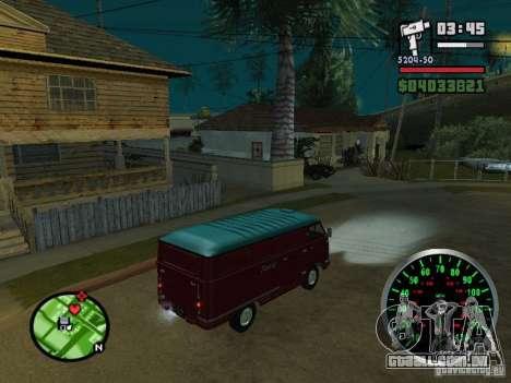762 YERAZ em para GTA San Andreas vista traseira