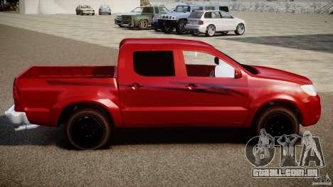 Toyota Hilux 2010 para GTA 4 esquerda vista