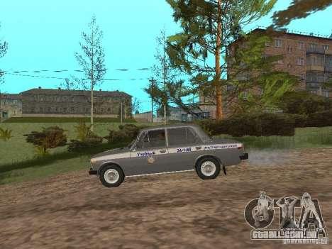 VAZ 21063 acadêmico para GTA San Andreas traseira esquerda vista
