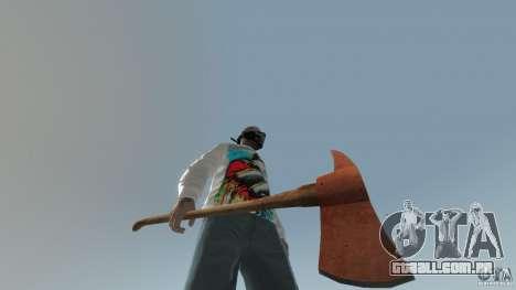 Accetta da pompiere para GTA 4