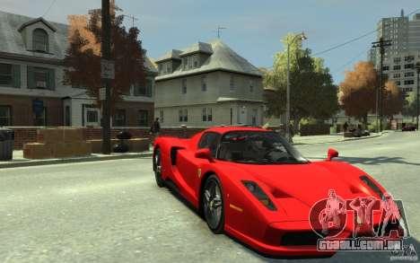 Ferrari Enzo [EPM] v1 para GTA 4 vista de volta