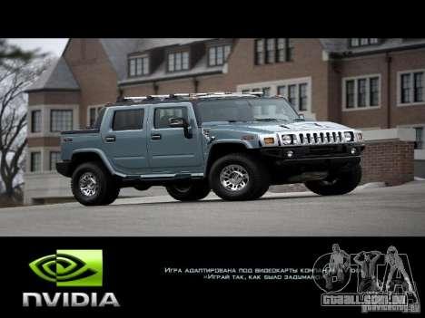 Novas telas de carregamento 2011 para GTA San Andreas segunda tela