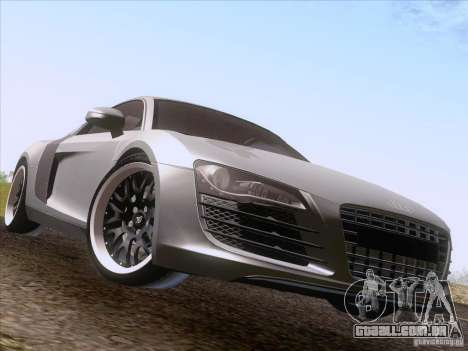 Audi R8 Hamann para GTA San Andreas vista direita