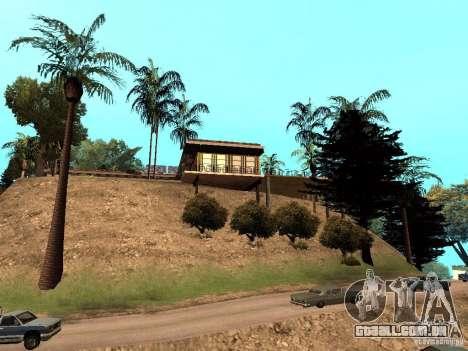 Reteksturirovannyj casa CJeâ V1 para GTA San Andreas terceira tela