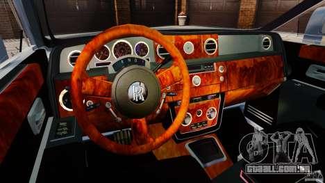 Rolls-Royce Ghost 2012 para GTA 4 vista de volta