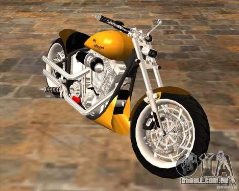 Race chopper by DMC para GTA San Andreas