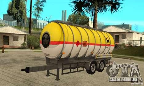 Trailer Tunk para GTA San Andreas