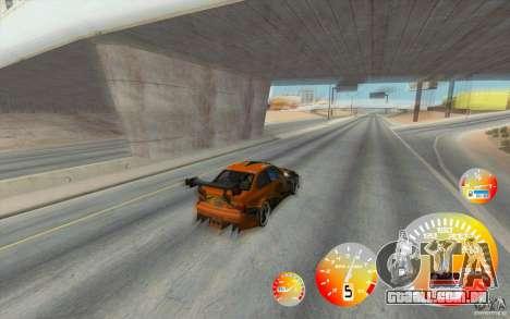 Velocímetro louuuuca v 1.2 + limitada diesel para GTA San Andreas segunda tela
