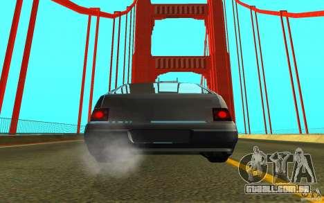 VAZ-2112 para GTA San Andreas vista direita