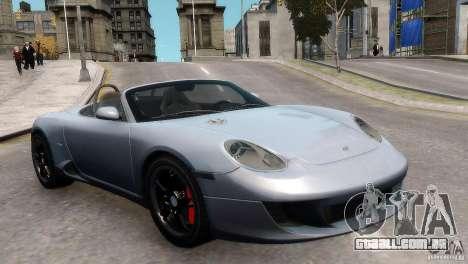 RUF RK Spyder 2006 [EPM] para GTA 4 vista direita