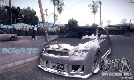 Scion Tc Street Tuning para GTA San Andreas