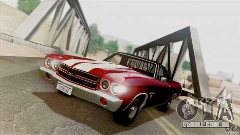 SA Beautiful Realistic Graphics 1.5 para GTA San Andreas quinto tela
