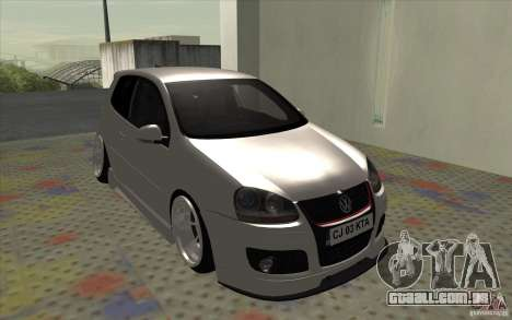 Volkswagen Golf Mk5 para GTA San Andreas esquerda vista