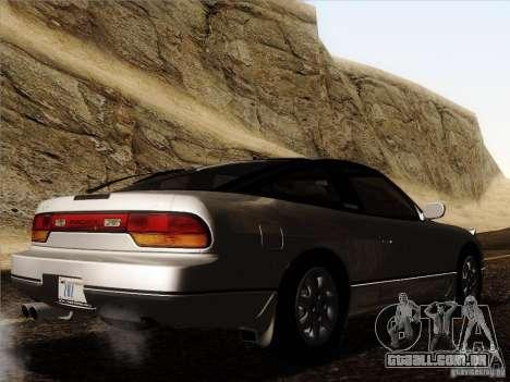 Nissan 240SX S13 - Stock para vista lateral GTA San Andreas
