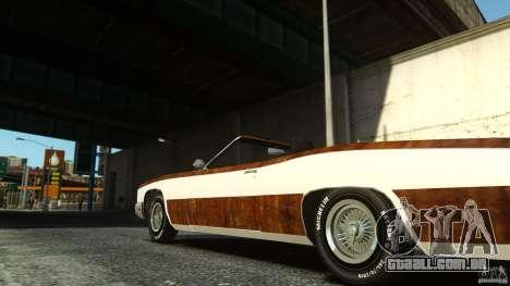 Buccaneer Final para GTA 4 traseira esquerda vista