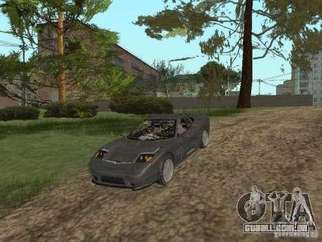 Chita de GTA 4 para GTA San Andreas vista interior