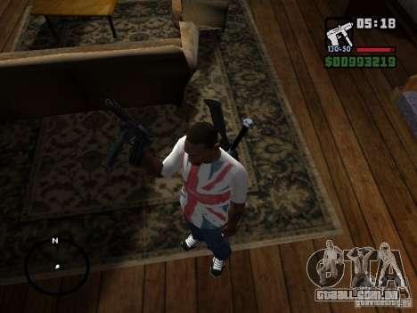 Tec9 HD para GTA San Andreas segunda tela