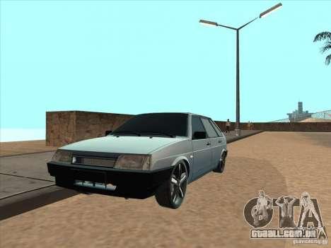 Ajuste de luz VAZ 21093i para GTA San Andreas