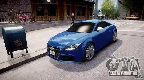 Audi TT RS Coupe v1 para GTA 4 vista de volta