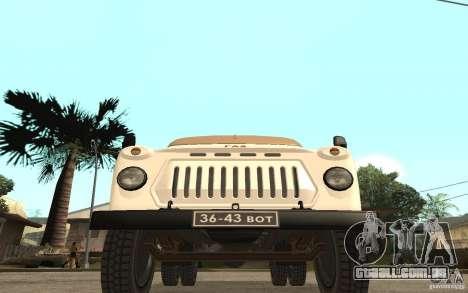 Gaz-52 para GTA San Andreas esquerda vista