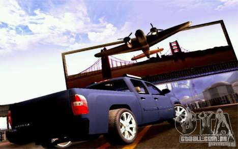 GMC Sierra 2011 para GTA San Andreas vista direita