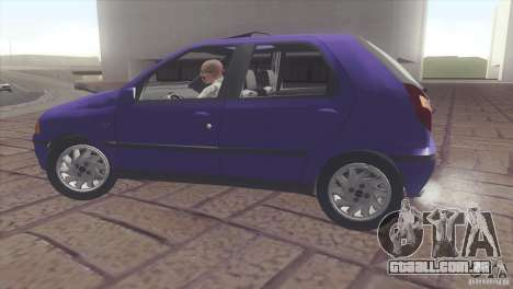 Fiat Palio 16v para GTA San Andreas vista direita