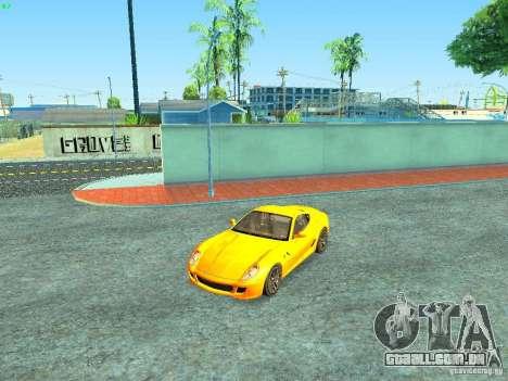 Ferrari 599 GTB para o motor de GTA San Andreas