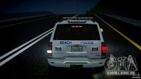 Chevrolet Trailblazer Police V1.5PD [ELS] para GTA 4 rodas