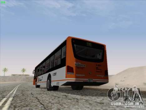 Design X4 para GTA San Andreas traseira esquerda vista
