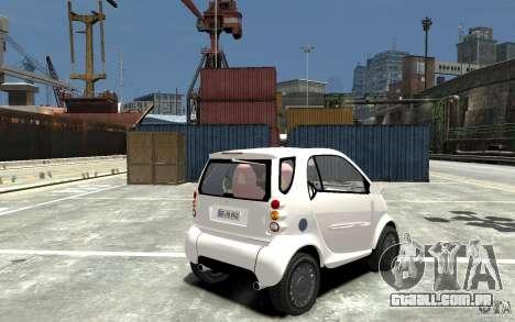 Smart For Two para GTA 4 vista direita
