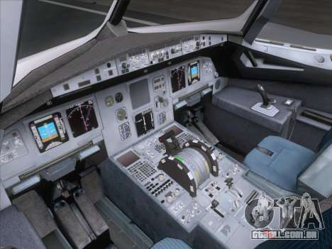 Airbus A320-211 Air France para as rodas de GTA San Andreas