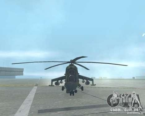Mi-24 p para GTA San Andreas