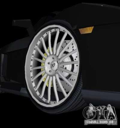 Lamborghini Gallardo Hamann Tuning para GTA Vice City vista traseira