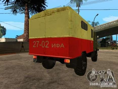 GAZ 66 para GTA San Andreas