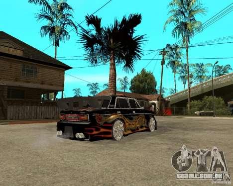 Melodia GTX VAZ 2106 para GTA San Andreas vista direita