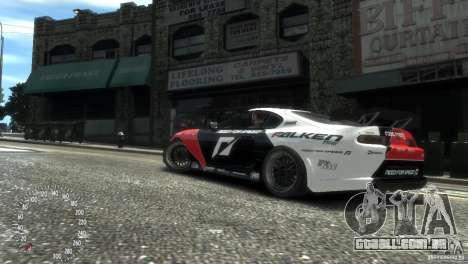 Toyota Supra Fredric Aasbo para GTA 4 traseira esquerda vista