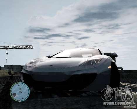 McLaren MP4-12C [EPM] 2011 para GTA 4 vista de volta