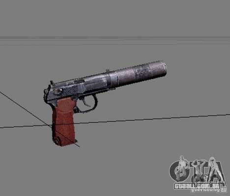 Um conjunto de armas do perseguidor V2 para GTA San Andreas sétima tela