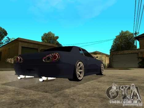 Elegy JDM para GTA San Andreas esquerda vista