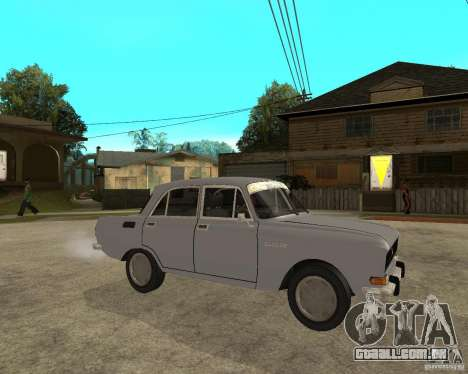 AZLK Moskvich 2140- para GTA San Andreas vista direita