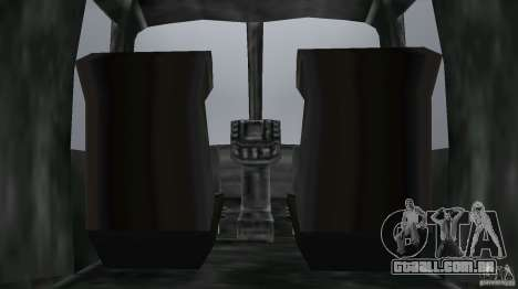 FBI Maverick para GTA Vice City vista traseira