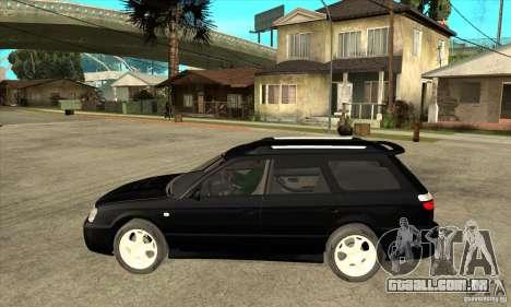 Subaru Legacy Station Wagon para GTA San Andreas esquerda vista