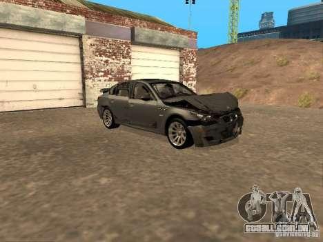 BMW M5 E60 2009 v2 para as rodas de GTA San Andreas