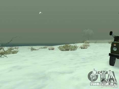 Frozen bone country para GTA San Andreas quinto tela