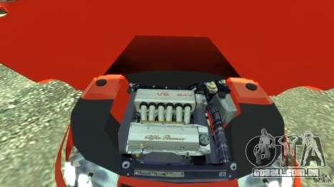 Alfa Romeo GTV Spider para GTA 4 vista de volta